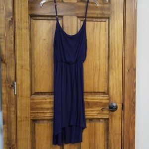 Spaghetti Strap, High-Low Dress